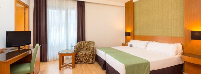 Hotel TRYP habitación
