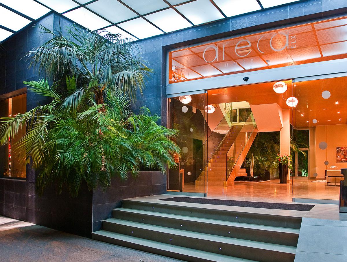 Hotel Areca entrada